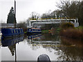 SJ6075 : Trent and Mersey Canal:  Pipe bridge by Dr Neil Clifton
