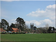 SK7288 : The church at Clayworth by John Slater