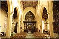 SK9153 : St.Helen's nave by Richard Croft