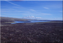 NY7830 : Above Cow Green Reservoir by Michael Graham