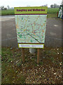 TM0262 : Haughley & Wetherden Village Map by Adrian Cable