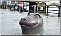 J3474 : Seal sculpture, Donegall Quay, Belfast (April 2015) by Albert Bridge