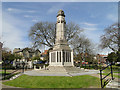 TG5207 : The Great Yarmouth WW1 Memorial in St. George's Park by Adrian S Pye