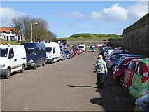 NT9953 : Castlegate Car Park by Oliver Dixon