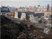 NU0052 : Houses under construction, Governor's Garden, Berwick-upon-Tweed by Graham Robson