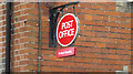 TM0262 : St.Mary's Post Office sign by Adrian Cable