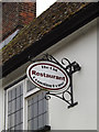 TM0262 : The Counting House Restaurant sign by Adrian Cable