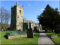 SK2176 : St. Lawrence's church, Eyam by pam fray