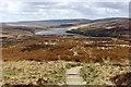 SD9734 : Pennine Way on Dean Stones Edge by Chris Heaton