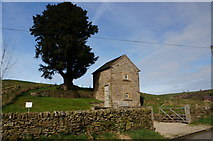 SK0664 : Small barn converted to holiday cottage by Peter Barr