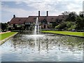 TQ0658 : Canal and Laboratory, RHS Garden at Wisley by David Dixon