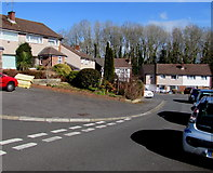 ST3091 : Corner of Horrocks Close and Alanbrooke Avenue, Malpas, Newport by Jaggery