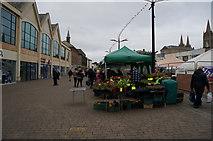 SW8244 : Farmers Market on Back Quay, Truro by Ian S