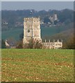 SP1114 : Church tower, Northleach by Derek Harper