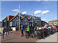 TR1634 : Hythe Bay Seafood Restaurant by Stephen Craven