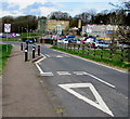 SO6614 : Traffic calming on Causeway Road, Cinderford by Jaggery