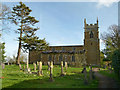 SK6926 : Church of St Mary, Nether Broughton by Alan Murray-Rust
