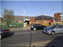 TQ2284 : Willesden Bus Garage on Pound Lane by David Howard