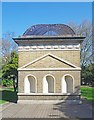 TQ3183 : London Underground ventilation shaft, Gibson Square, Islington by Julian Osley