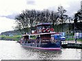 SU9973 : Lucy Fisher Moored at Runnymede by David Dixon