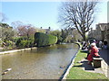 SP1620 : River Windrush, Bourton on the Water by Paul Gillett