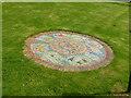 SK6826 : Millennium Mosaic, Cross Green, Upper Broughton by Alan Murray-Rust