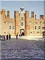 TQ1568 : Anne Boleyn's Gatehouse, Hampton Court Palace by David Dixon