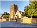 TQ0079 : Church of St Mary the Virgin, Langley by David Dixon