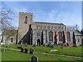 TM1861 : St Andrew's church, Winston by Bikeboy