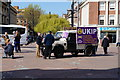 TA0928 : Ukip canvasing in Queen Victoria Square, Hull by Ian S