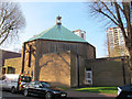 TQ3478 : St Philip's church, Avondale Square by Stephen Craven