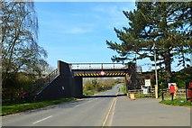 SP0838 : Restored railway bridge, Broadway by Philip Pankhurst