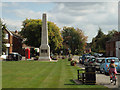 SP2382 : Memorial to cyclists who fell in the Great War, The Green, Meriden by Robin Stott