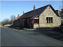 NU1705 : Cottages, Newton on the Moor by JThomas