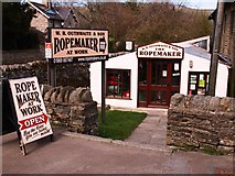 SD8789 : Rope Maker in Hawes by Steve Houldsworth