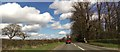 SJ3331 : A495 passing Halston Gardens by John Firth