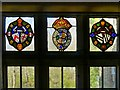 SD7315 : Stained Glass at Turton Tower by David Dixon