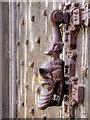 SD7315 : Door Knocker, Turton Tower by David Dixon