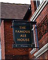 SU1384 : The former Famous Ale House (2) - sign, 146 Redcliffe Street, Rodbourne, Swindon by P L Chadwick