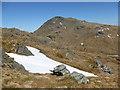 NN2407 : Snow patch on Beinn Luibhean by Alan O'Dowd