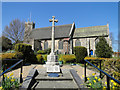 TG4010 : Acle War Memorial in the Market Place by Adrian S Pye
