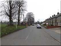 TM0458 : B1115 Finborough Road, Stowmarket by Adrian Cable
