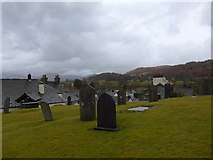 SD3598 : St Michael and All Angels, Hawkshead: churchyard (10) by Basher Eyre