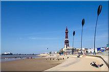 SD3035 : The Promenade, Blackpool by David P Howard