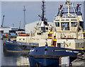 J3475 : Tugs, Belfast docks by Rossographer