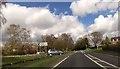 SJ5560 : Road junction at Tiverton by John Firth
