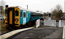 SN6212 : Departure from  Ammanford railway station by Jaggery