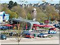 SK5639 : Castle Meadow Retail Park by Stephen McKay