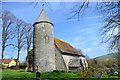 TQ4205 : St Peter's church, Southease by Julian P Guffogg