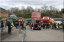 TQ0762 : Open Day at London Bus Museum, Brooklands by David Kemp